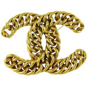 Chanel brooch vintage